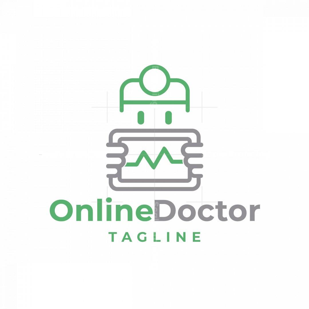 Online Doctor Logo