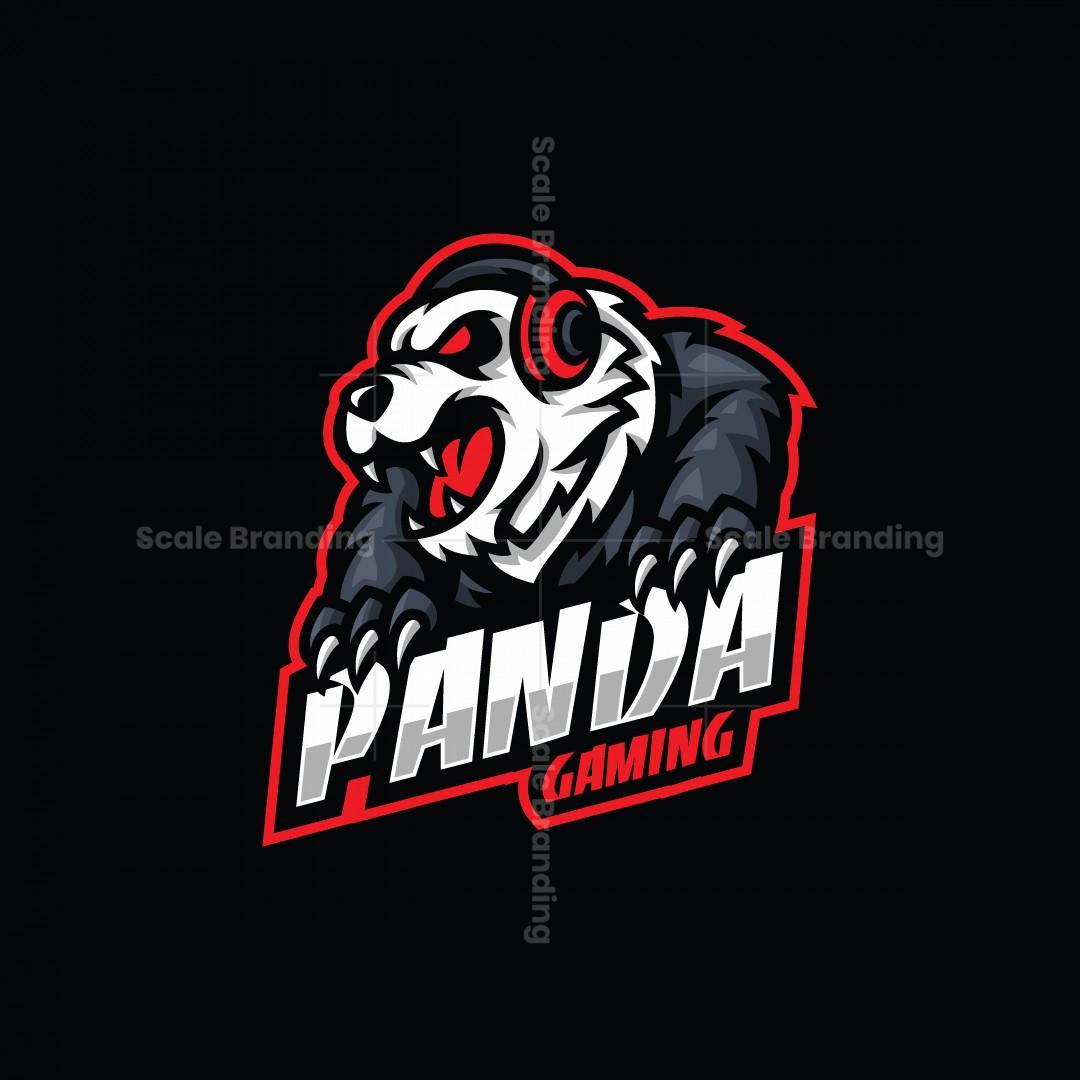 Panda Gaming Mascot Logo