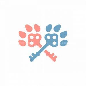 Paw Key Logo