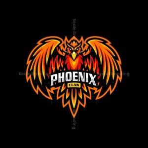 Phoenix Clan Mascot Logo