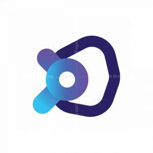Play Button Tech Logo