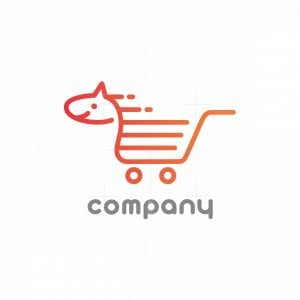Pony Shoppping Cart Logo