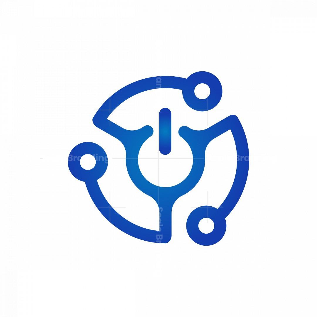 Power Abstract Logo