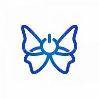 Power Butterfly Logo