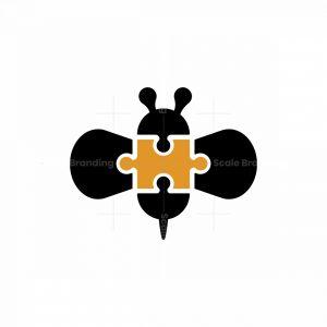 Puzzle Bee Logo