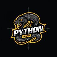 Python Esport Mascot Logo