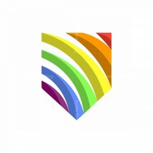 Rainbow Shield Logo