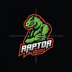 Raptor Gaming Mascot Logo