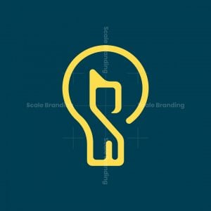 Cat Bulb Logo