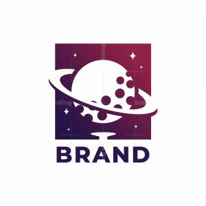 Space Golf Logo