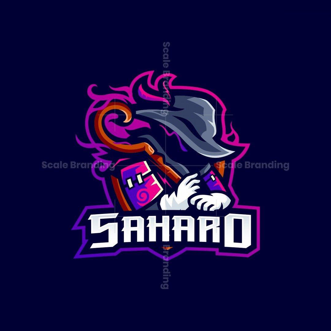 Saharo Mascot Logo