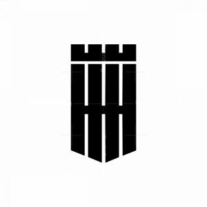 Hhh Shield Crown Monogram Logo