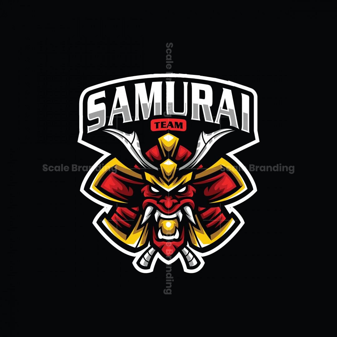 Samurai Team Mascot Logo