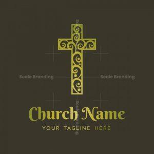 Church Cross Logo