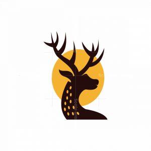 Deer With Sun Logo