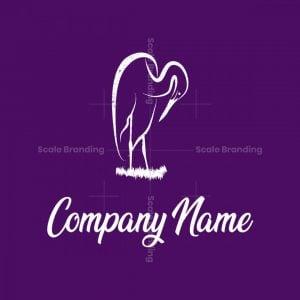 Heron Bird Logo