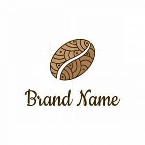 Coffee Bean Design Logo