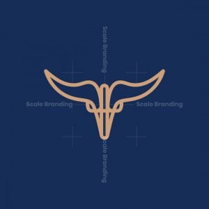Skull Horn Logo