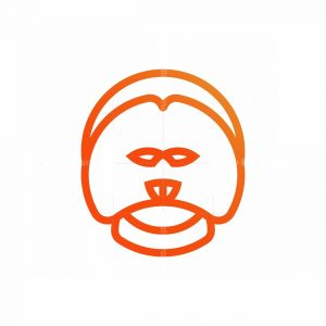 Smiling Orangutan Logo