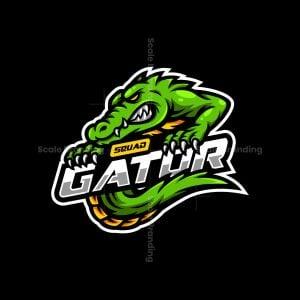 Gator Squad Mascot Logo