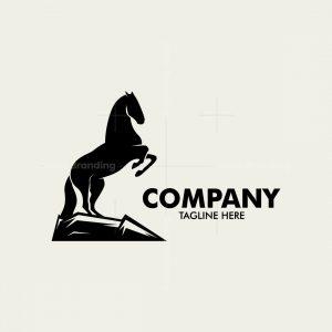 Strong Wild Horse Logo