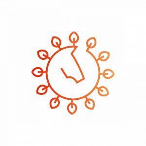 Sun Horse Logo