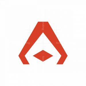 Techie Letter A Logo