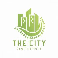 The Green City Logo