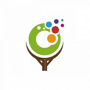 Tree Bubbles Logo