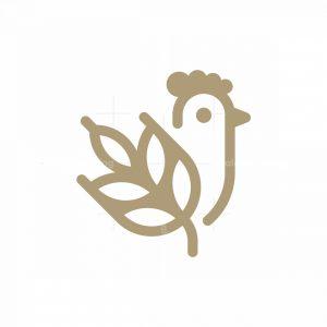 Wheat Chicken Logo
