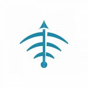 Wifi Arrow Logo