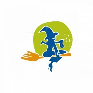 Witched Cleaning Logo