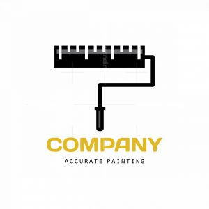 Accurate Painting Symbol Logo
