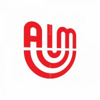 Typographic Aim Logo