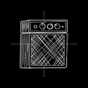 Line Art Amplifier Logo