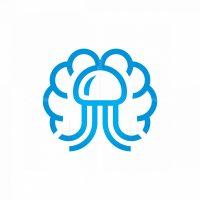 Mind Smart Jellyfish Logo