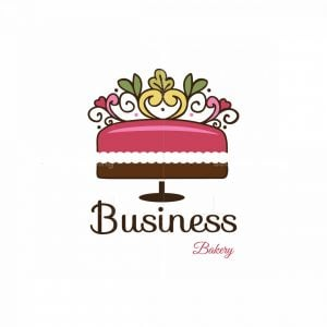 Cake Garden Bakery Symbol Logo