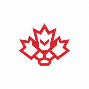 Canadian Canada Lion Logo