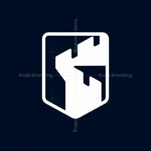Castle Badge Shield Logo