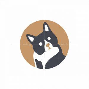 Modern Cat Icon Logo