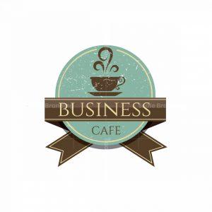 Classic Cafe Symbol Logo