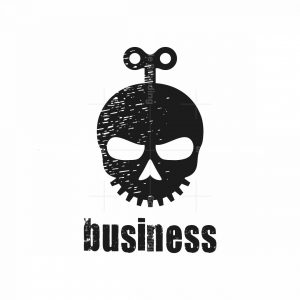 Clockwork Skull Logo