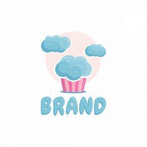 Clouds Cupcake Logo