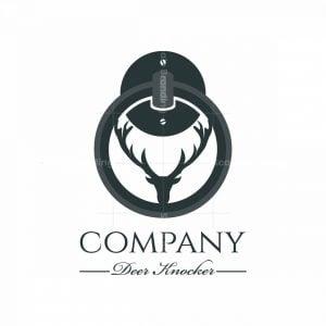 Deer Knocker Symbol Logo