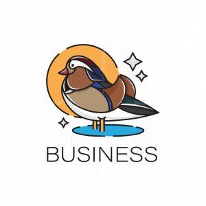 Mandarin Duck Logo
