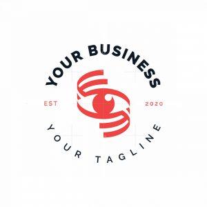 Eye Letter S Logo
