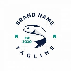 Fish Bookmark Logo