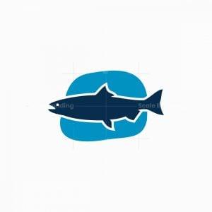 Clean Fish Icon Logo