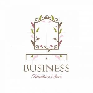 Floral Vanity Symbol Logo