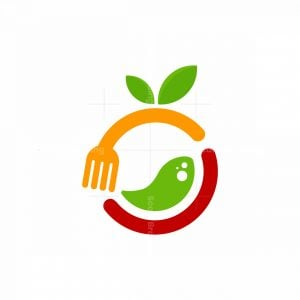 Fruit Juice Food Logo